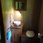 Fisherman's cabin bathroom